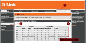PTCL DSL Line Stats
